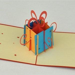 Popcards.nl pop up kaart cadeautje verjaardagskaart