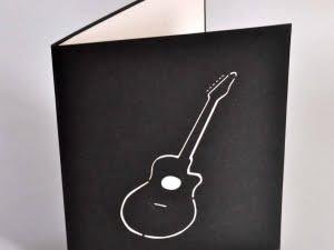 Guitar blå 2