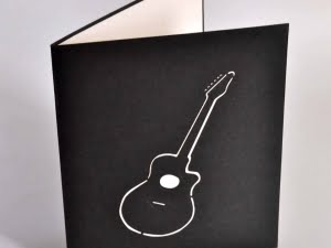 Guitare bleu 2