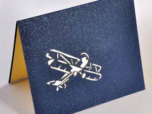 Vliegtuig blauw 2