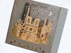 Popcards.nl pop up card Paris