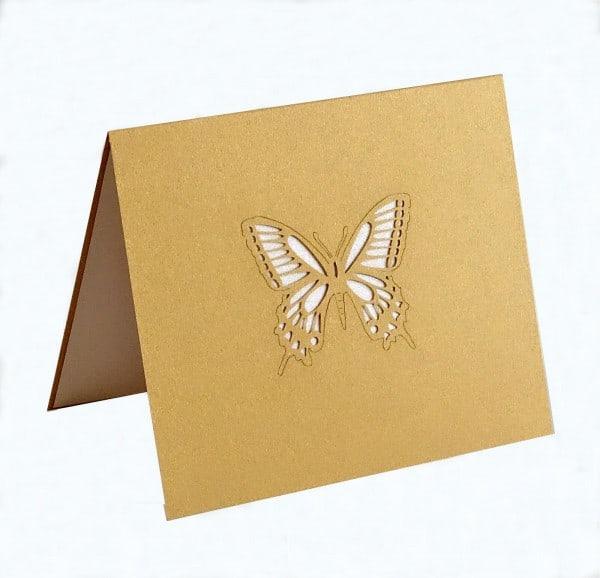 Cubierta de mariposas