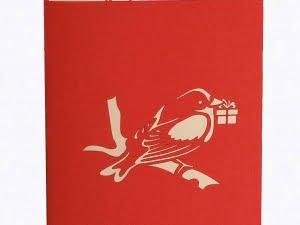 vogel met cadeautje 2