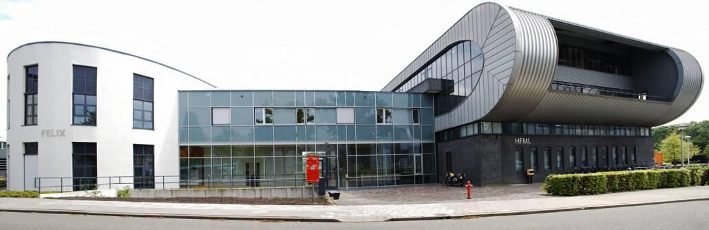 Het HFML-FELIX gebouw