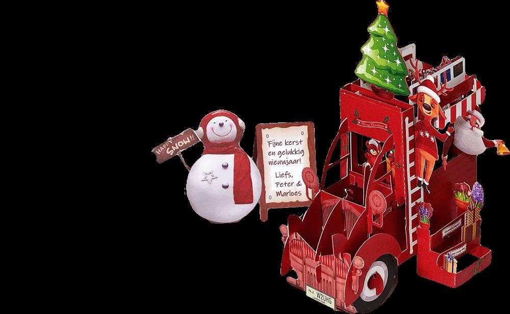 slider kerstcitroen compleet 1