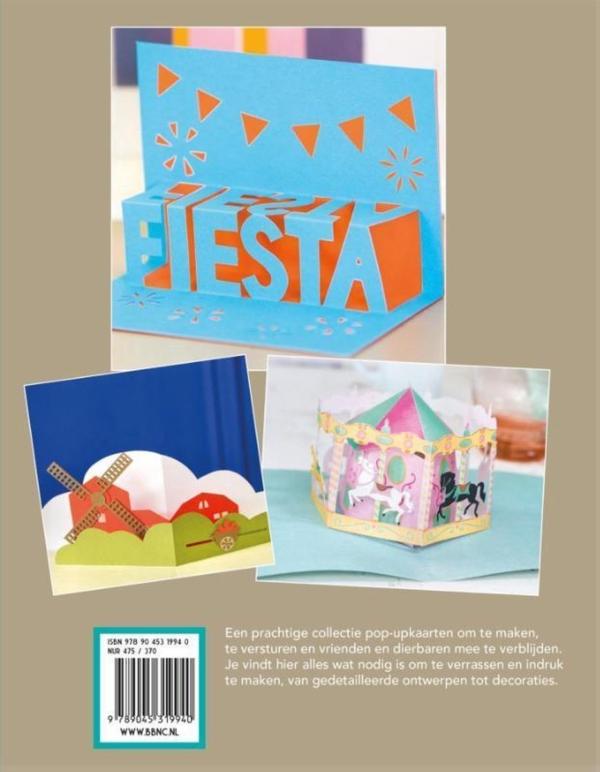 libro pop up tarjetas emily gregory 9789045319940 parte trasera
