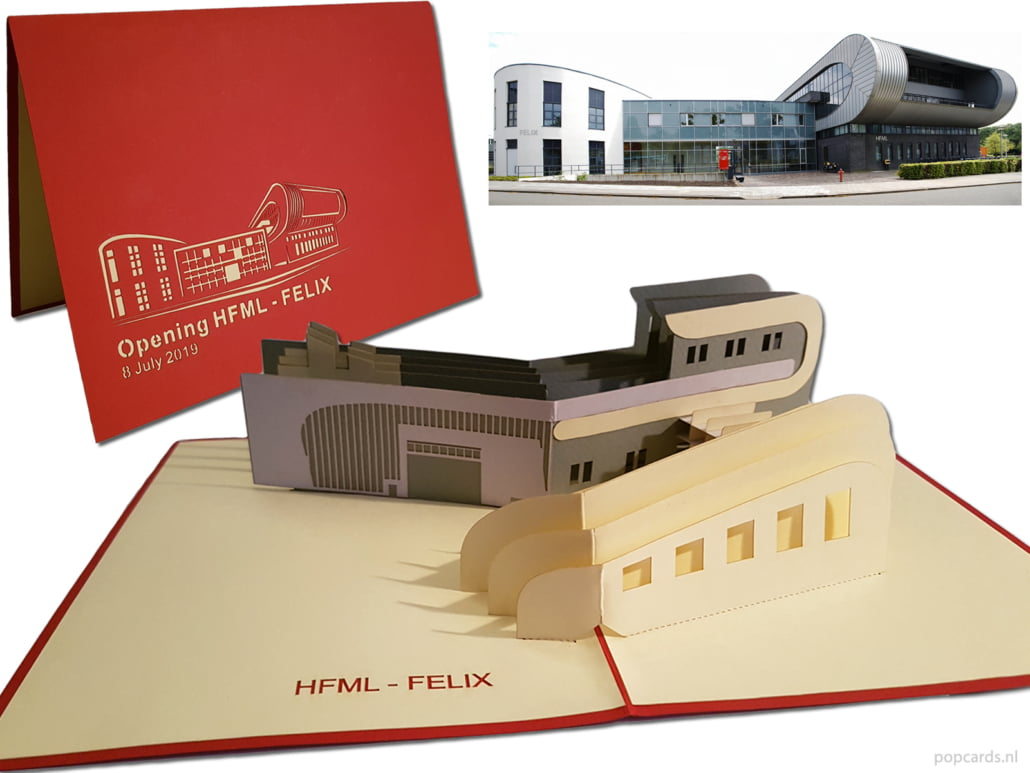 Popcards Radboud Universiteit HFML-FELIX